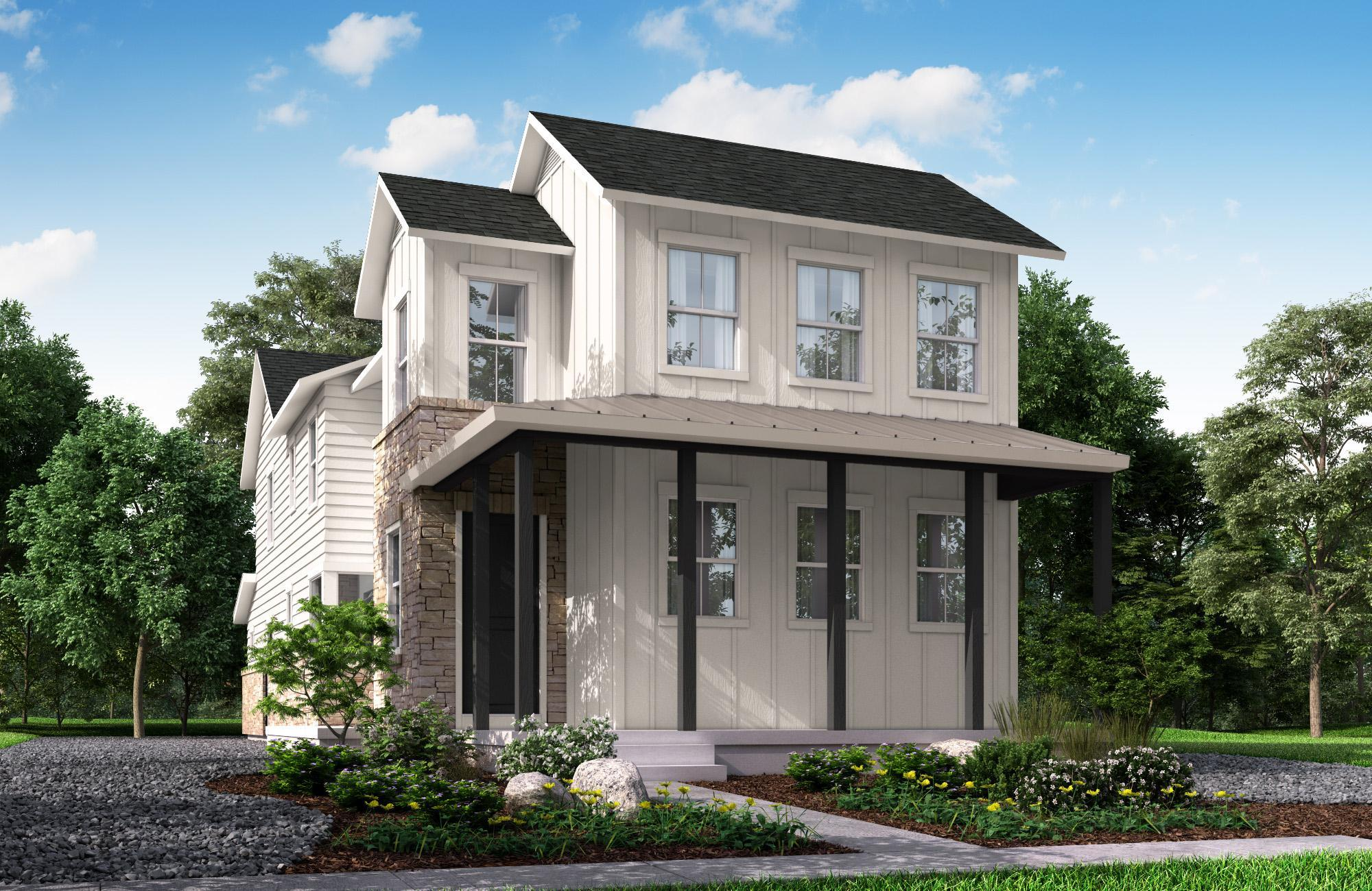 Exterior featured in the Showcase By McStain Neighborhoods in Denver, CO