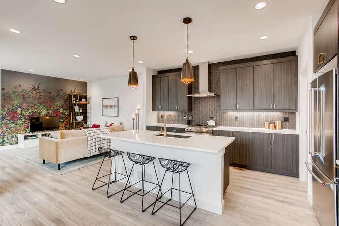 Kitchen featured in the Limelight By McStain Neighborhoods in Denver, CO