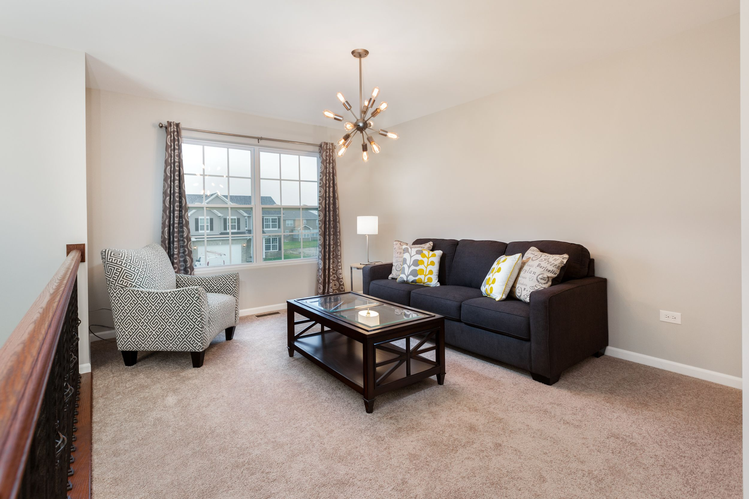Living Area featured in The Sycamore By Meadowbrook Builders in Chicago, IL