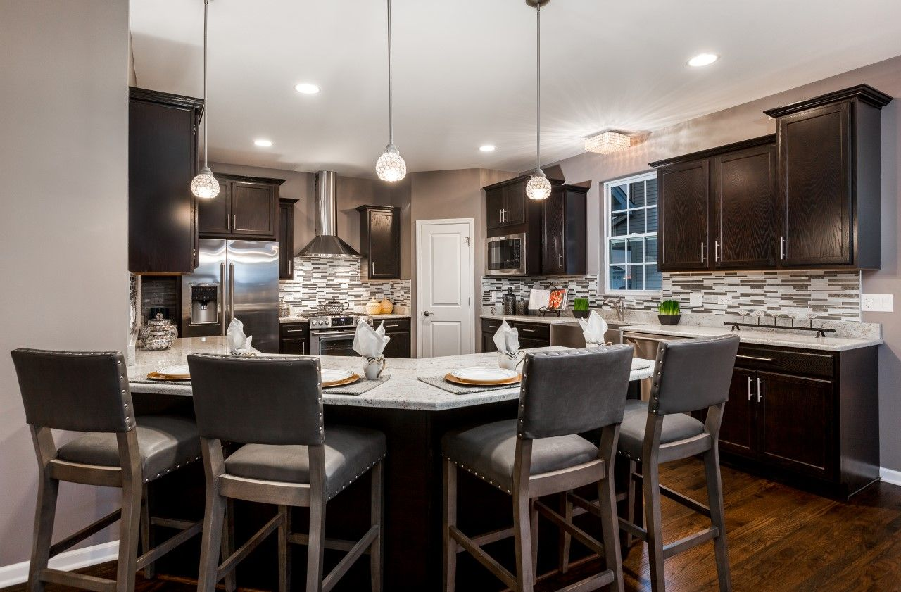 Kitchen featured in The Riverview By Meadowbrook Builders in Chicago, IL