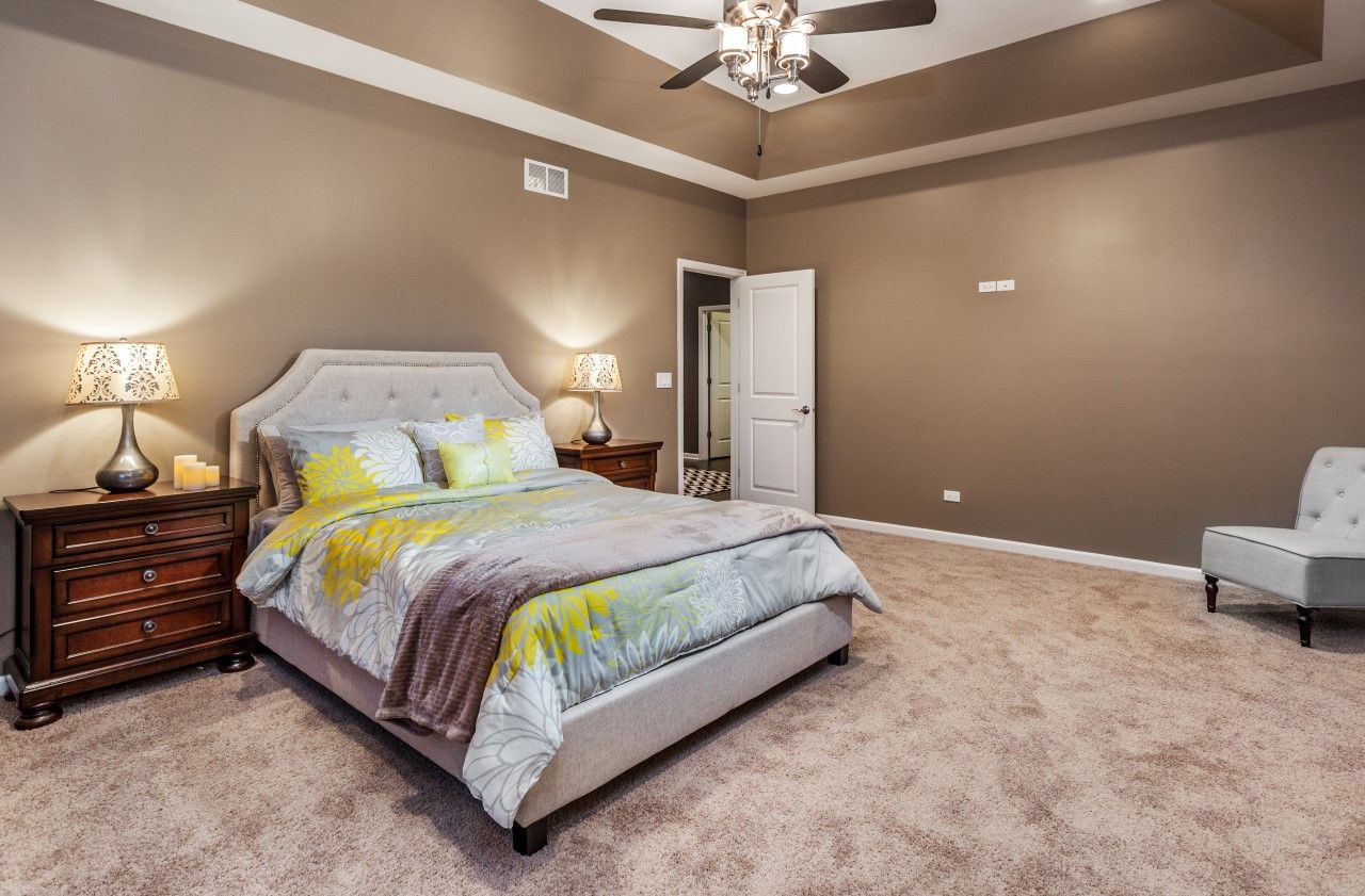 Bedroom featured in The Riverview By Meadowbrook Builders in Chicago, IL