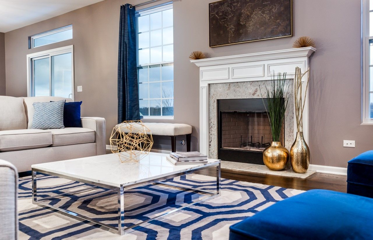 Living Area featured in The Riverview By Meadowbrook Builders in Chicago, IL