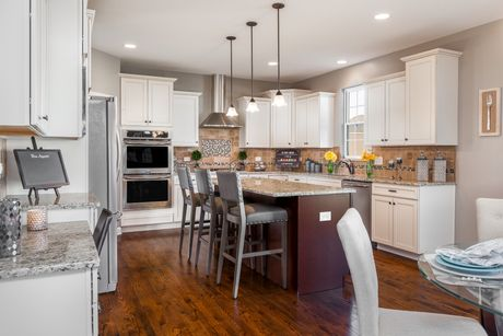 Kitchen-in-The Cypress-at-Arbor Lakes-in-Minooka