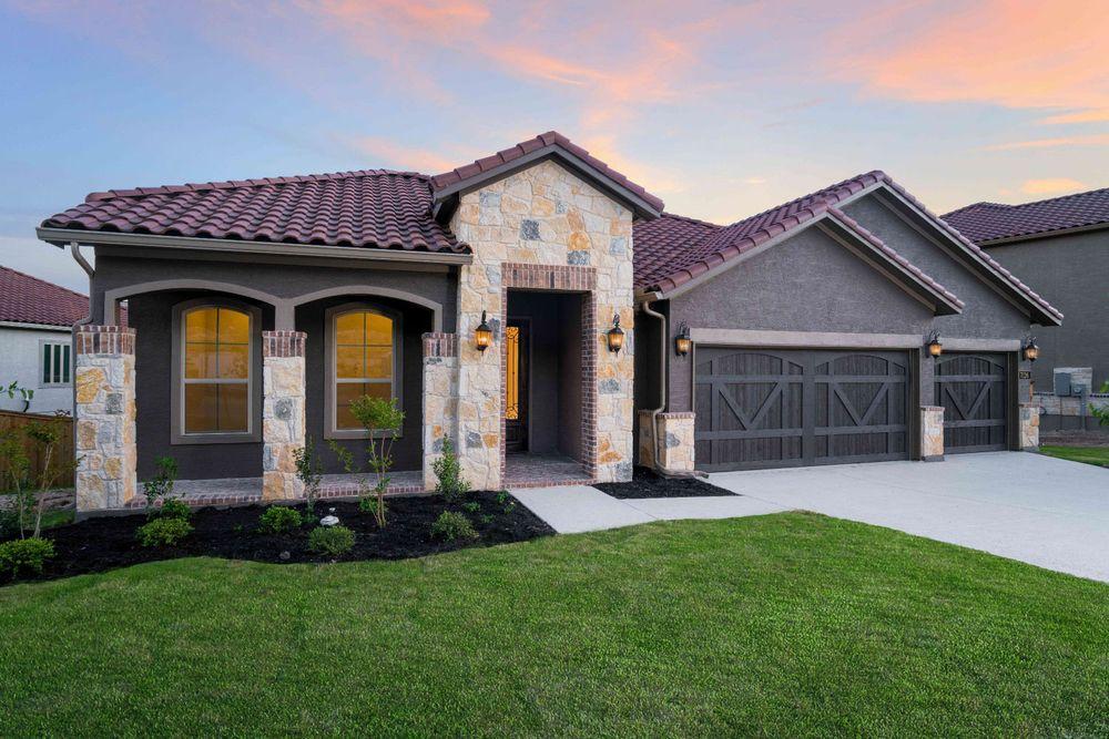 Cresta Bella In San Antonio Tx By Megatel Homes