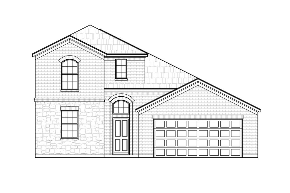 Annabelle Ii Home Plan By Megatel Homes In Travis Ranch