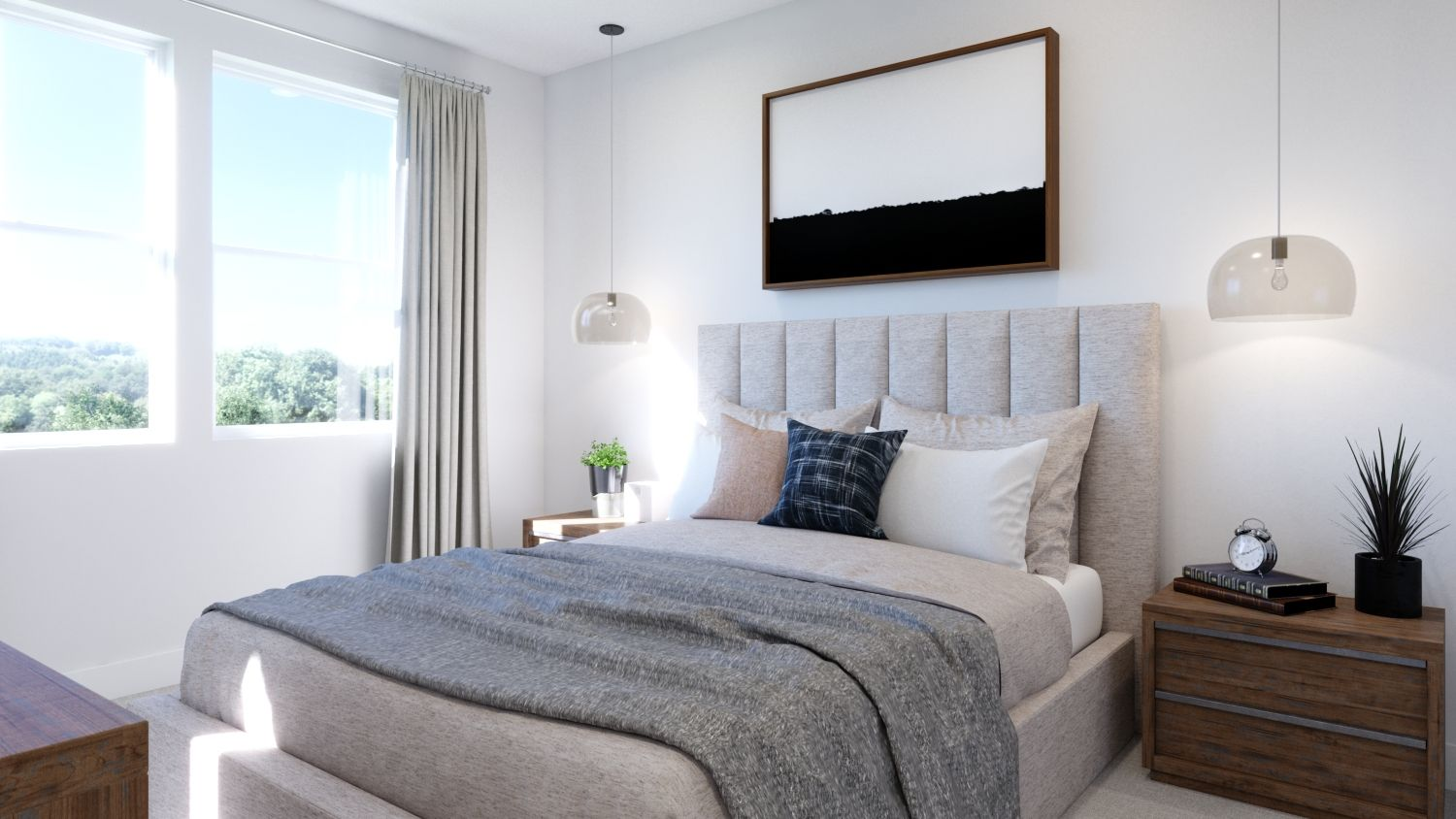 Bedroom featured in the Plan 1 By Melia in Orange County, CA