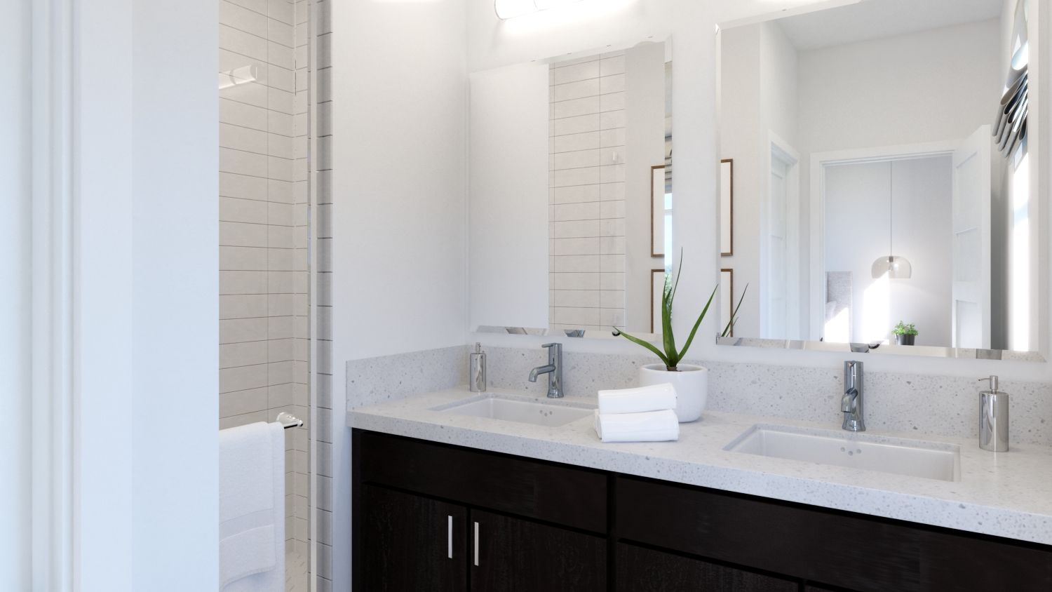 Bathroom featured in the Plan 1 By Melia in Orange County, CA