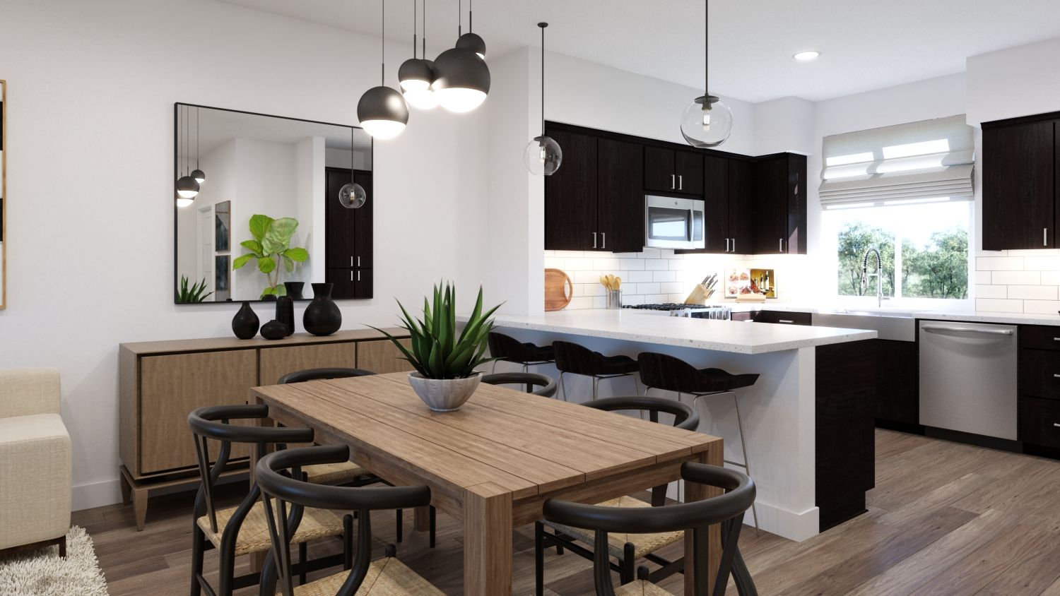 Kitchen featured in the Plan 1 By Melia in Orange County, CA