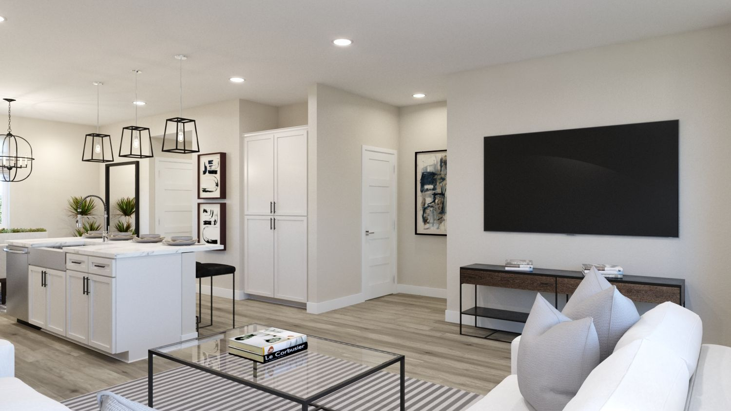 Living Area featured in the Plan 2 By Melia in Orange County, CA