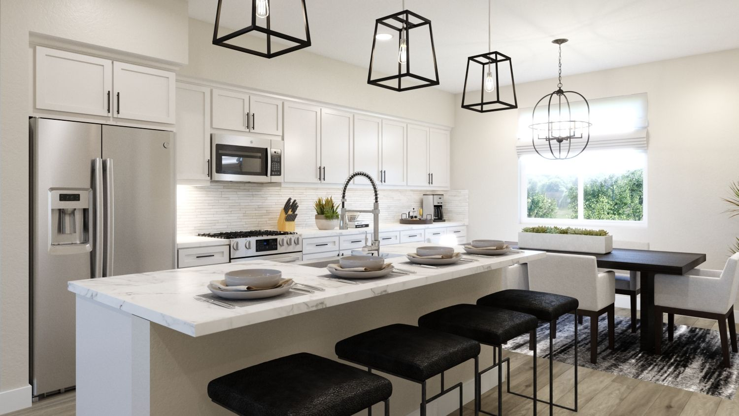 Kitchen featured in the Plan 2 By Melia in Orange County, CA