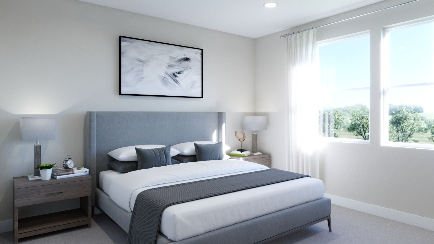 Bedroom featured in the Plan 2 By Melia in Orange County, CA