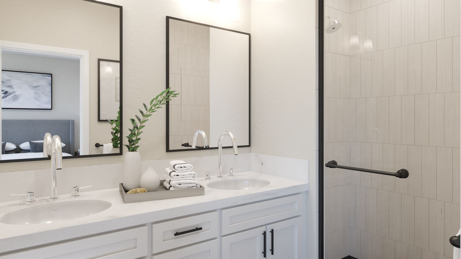 Bathroom featured in the Plan 2 By Melia in Orange County, CA