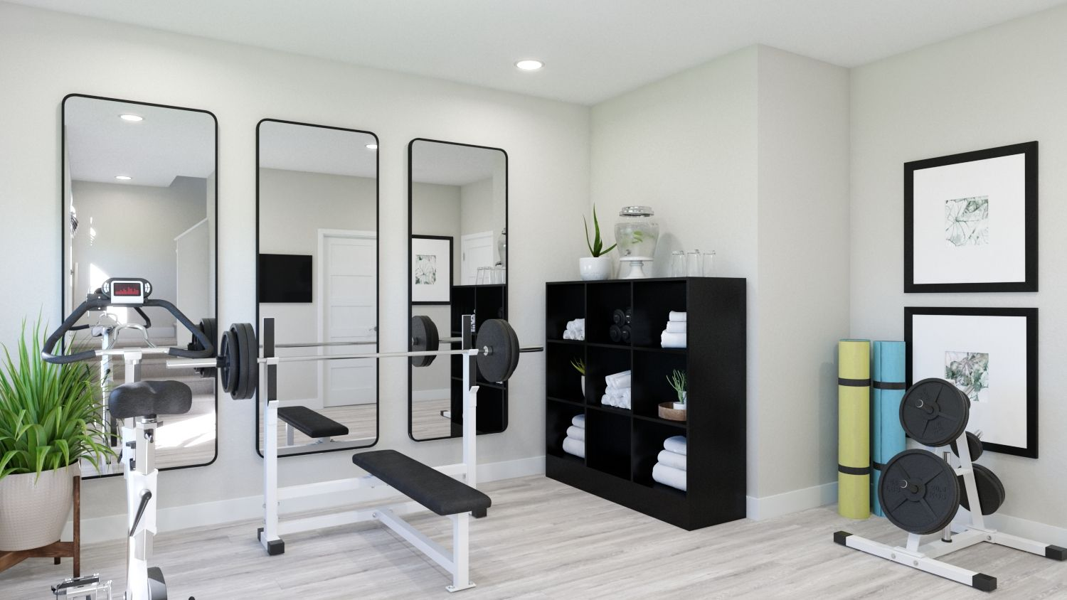 Living Area featured in the Plan 3A By Melia in Orange County, CA