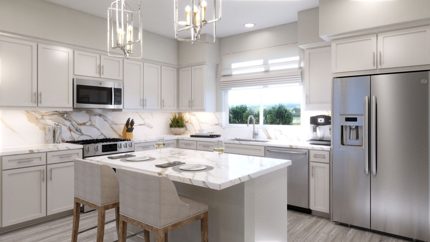 Kitchen featured in the Plan 3A By Melia in Orange County, CA