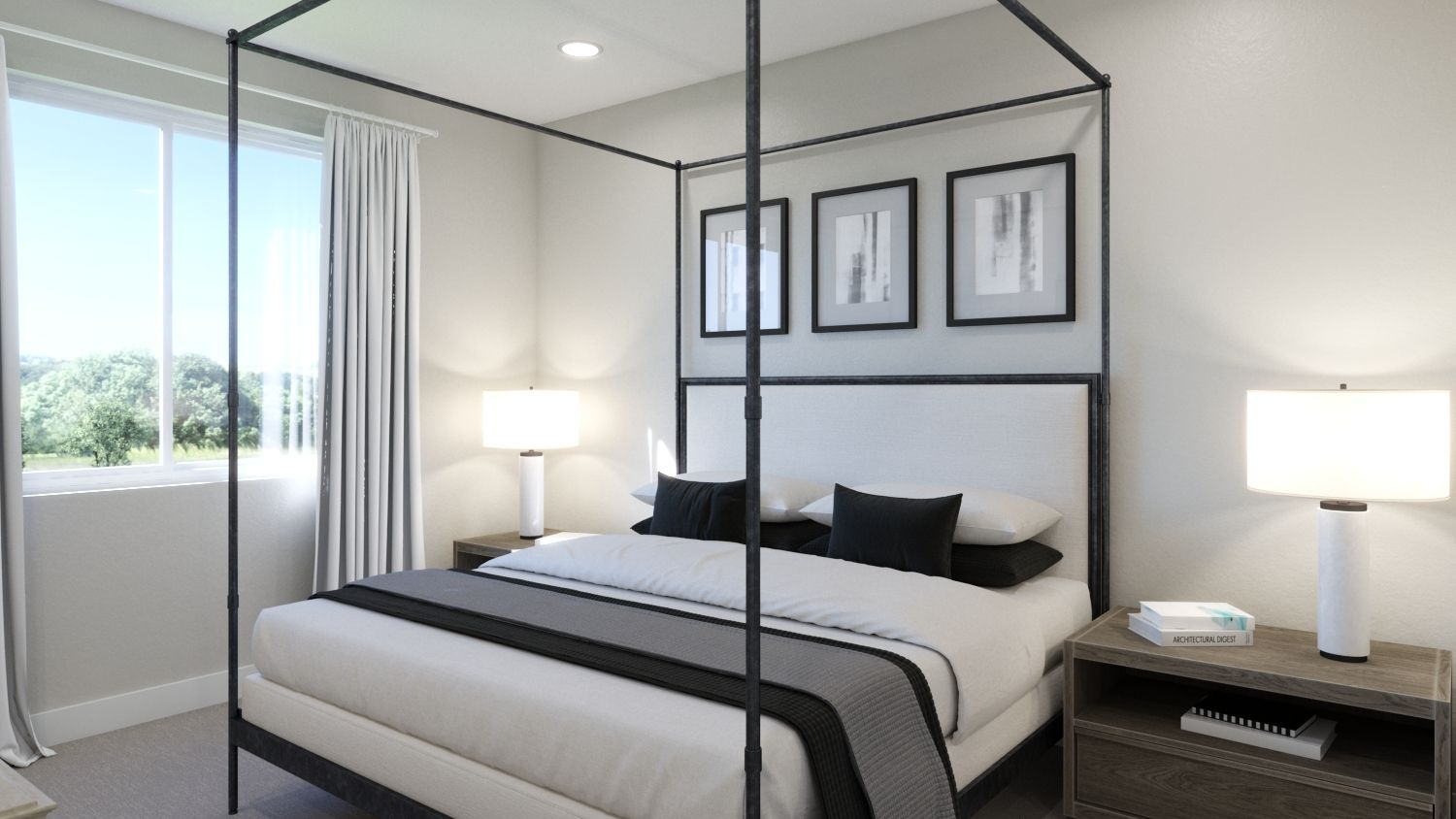 Bedroom featured in the Plan 3A By Melia in Orange County, CA