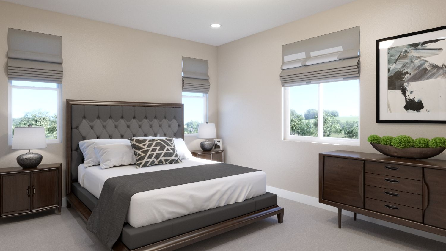 Bedroom featured in the Plan 4B By Melia in Orange County, CA