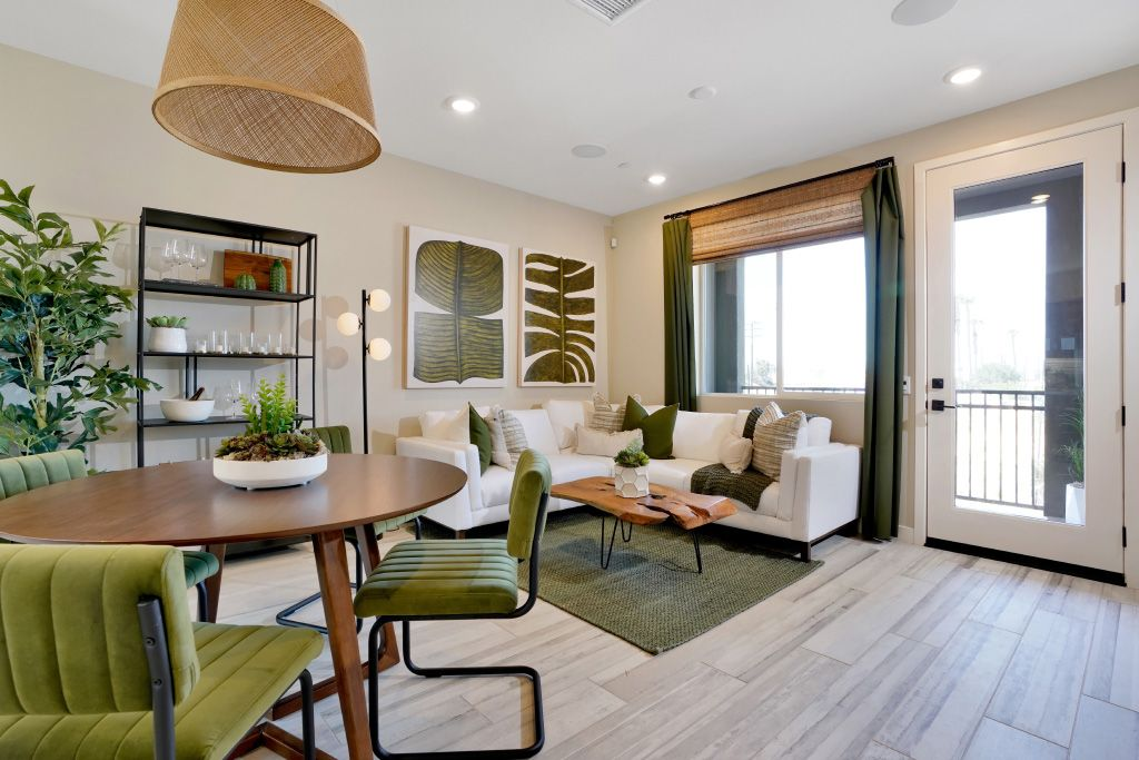 Living Area featured in the 1B By Melia Homes in Los Angeles, CA