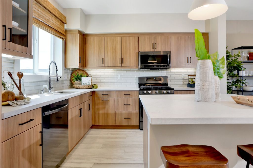 Kitchen featured in the 1B By Melia Homes in Los Angeles, CA