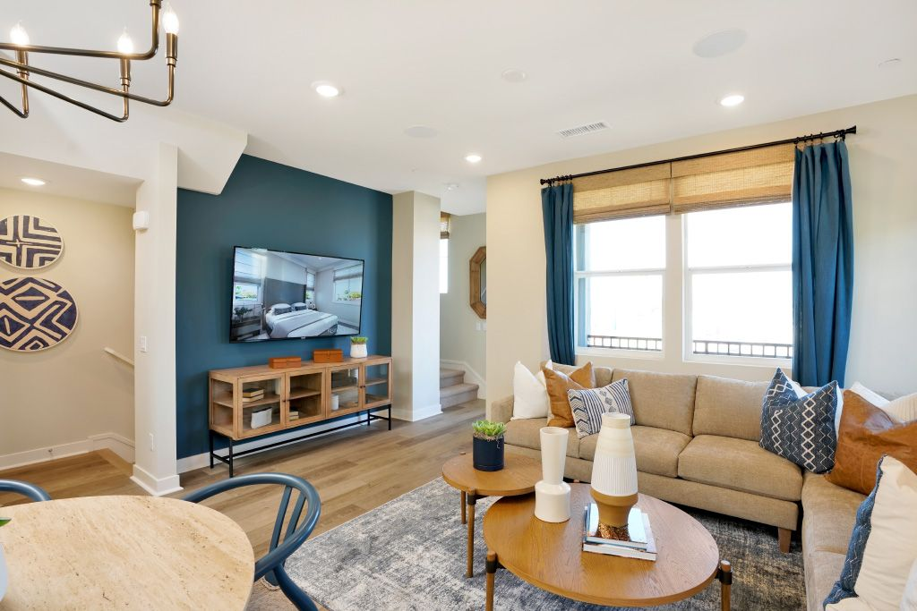Living Area featured in the 2B By Melia Homes in Los Angeles, CA