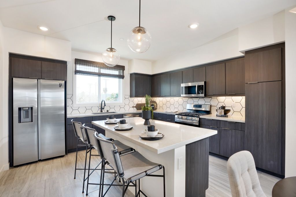 Kitchen featured in the 3B By Melia Homes in Los Angeles, CA