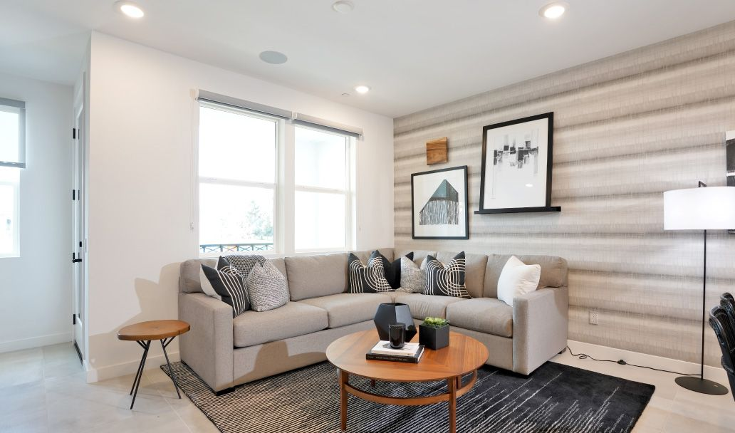 Living Area featured in the Plan 1 By Melia in Orange County, CA
