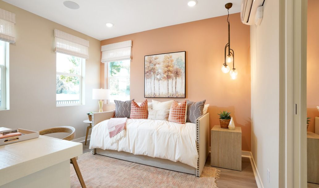 Bedroom featured in the Plan 4A By Melia in Orange County, CA