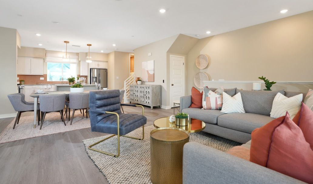 Living Area featured in the Plan 4A By Melia in Orange County, CA