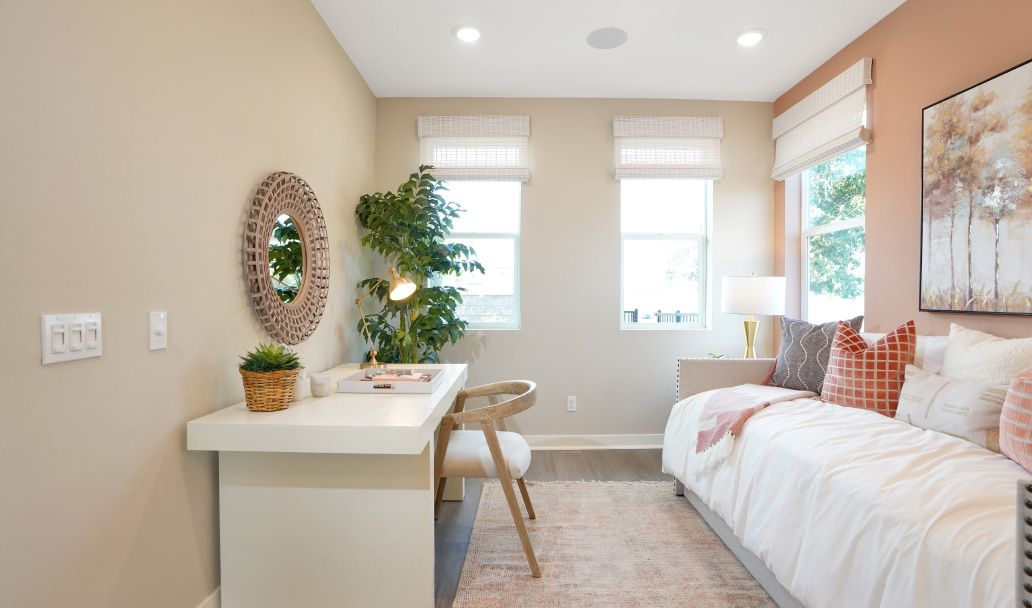 Living Area featured in the Plan 4B By Melia in Orange County, CA