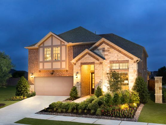 The Hickory is one of many beautiful homes to choose from at Ansley Meadows.