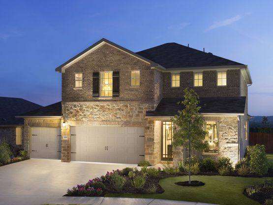 The Lavaca is one of many dream homes to choose from at Stewart Crossing.