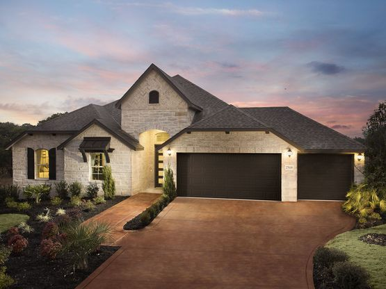 The charming Biltmore plan welcomes you home