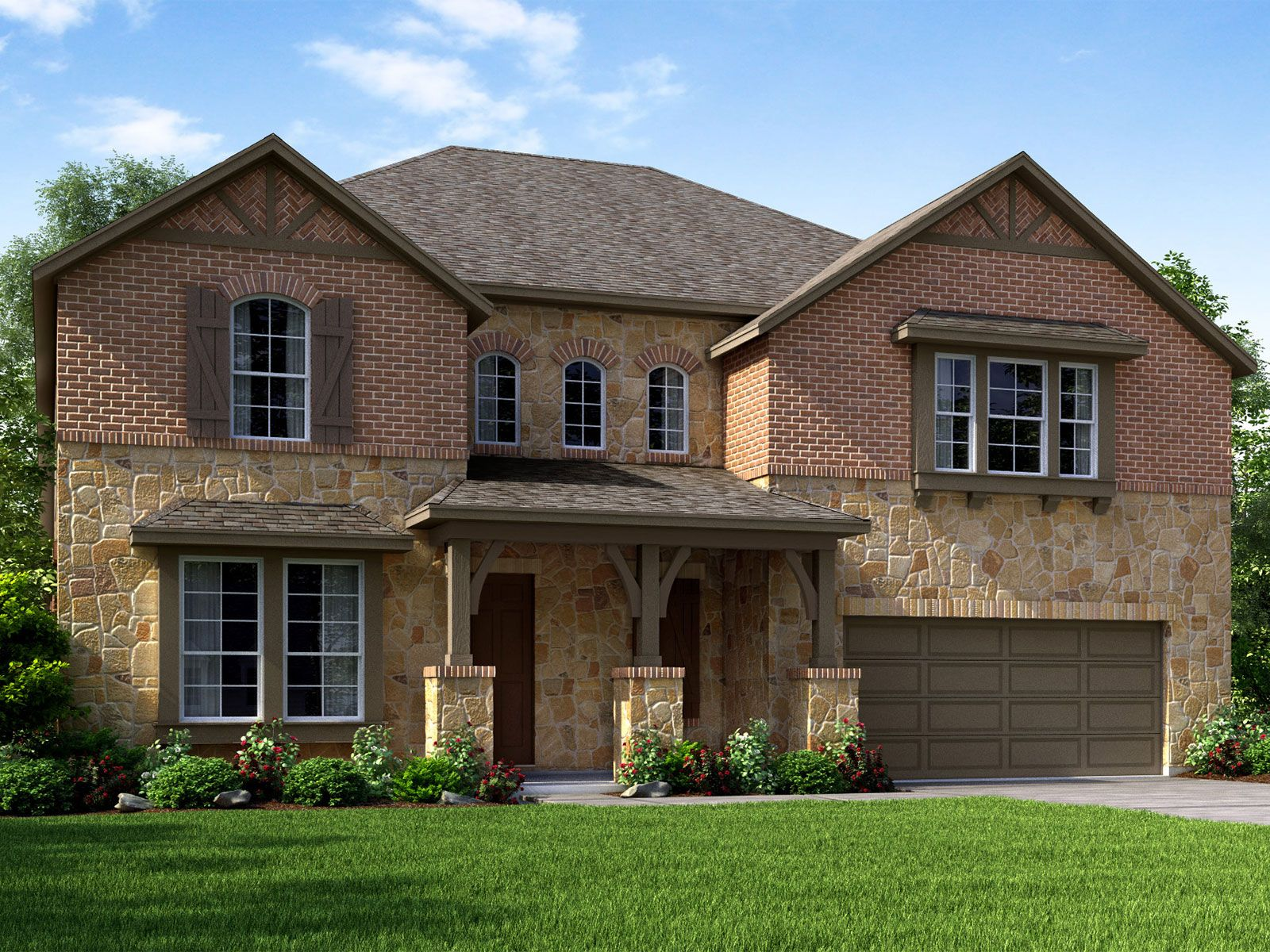 The Yorkshire (5004) Plan, Pearland, Texas 77089 - The