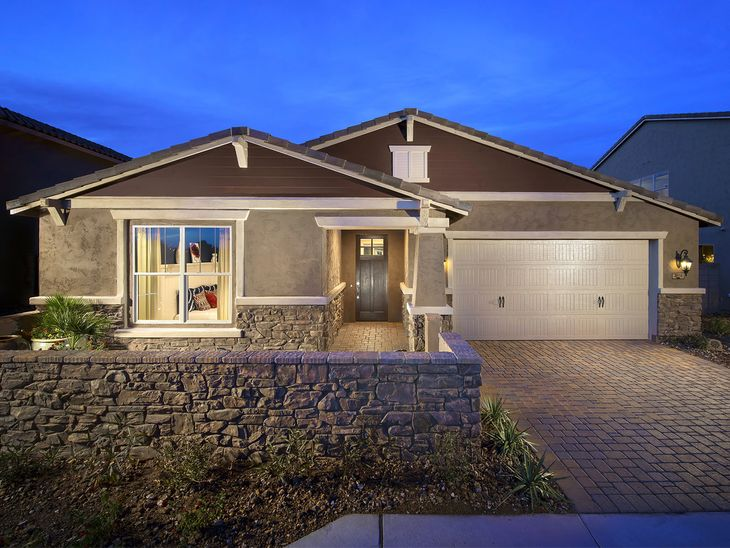 This single story Sierra plan is perfect for entertaining.