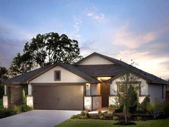 The stunning Brazoria - one of many plans to choose from at Siena.