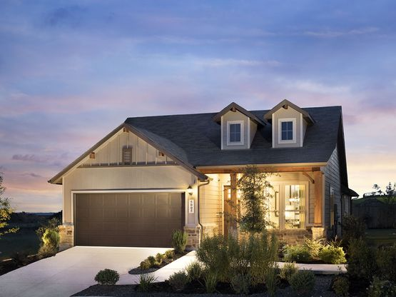 The Torino is one of the many beautiful homes to choose from at Asher Place.
