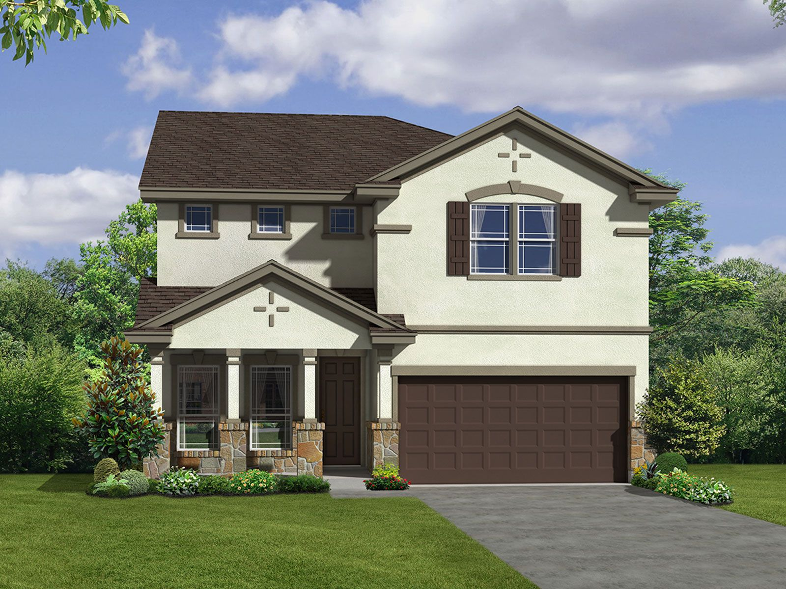 Tribute Ranch in San Antonio, TX :: New Homes by Meritage Homes