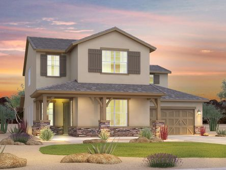 Stoneledge At North Canyon By Meritage Homes In Phoenix Mesa Arizona