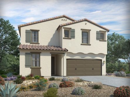 La estancia artistry series by meritage homes in tucson arizona