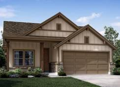 The Torino (L184) - Harlach Farms: San Antonio, Texas - Meritage Homes