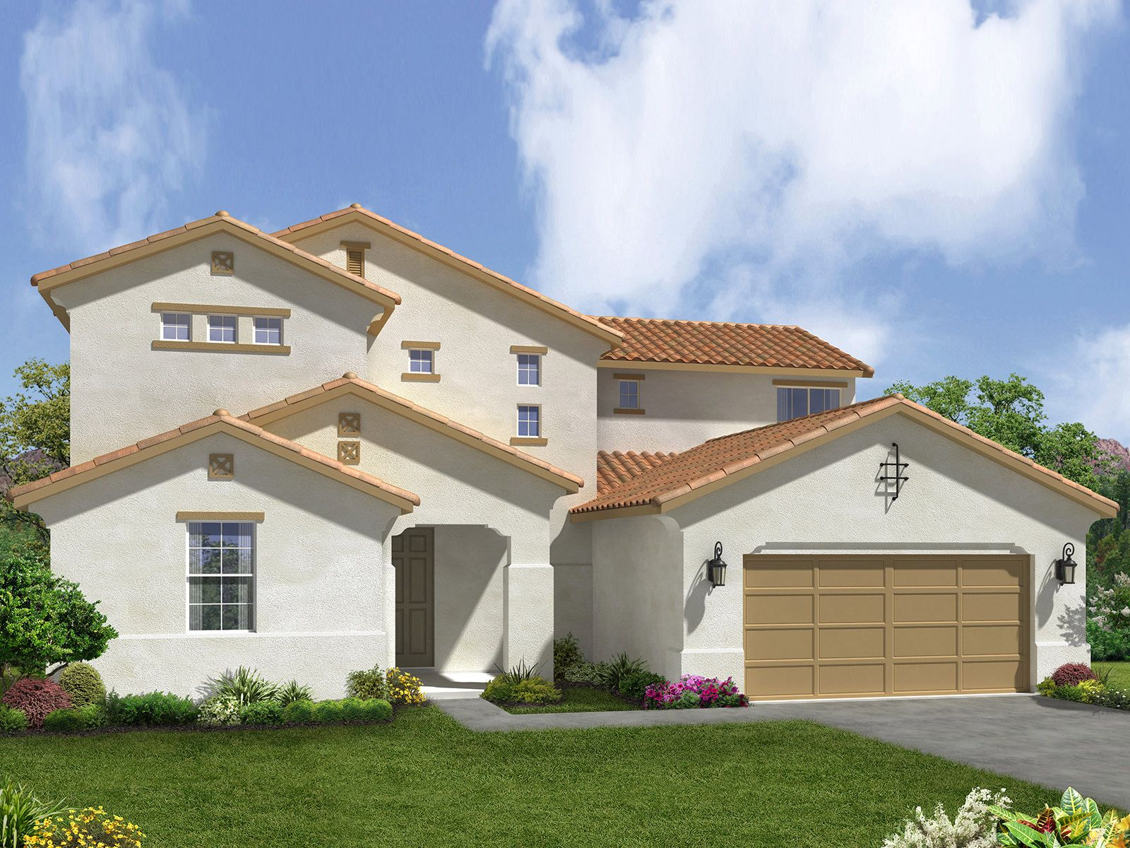 The sunstar plan bakersfield california 93313 the for Home builders bakersfield ca