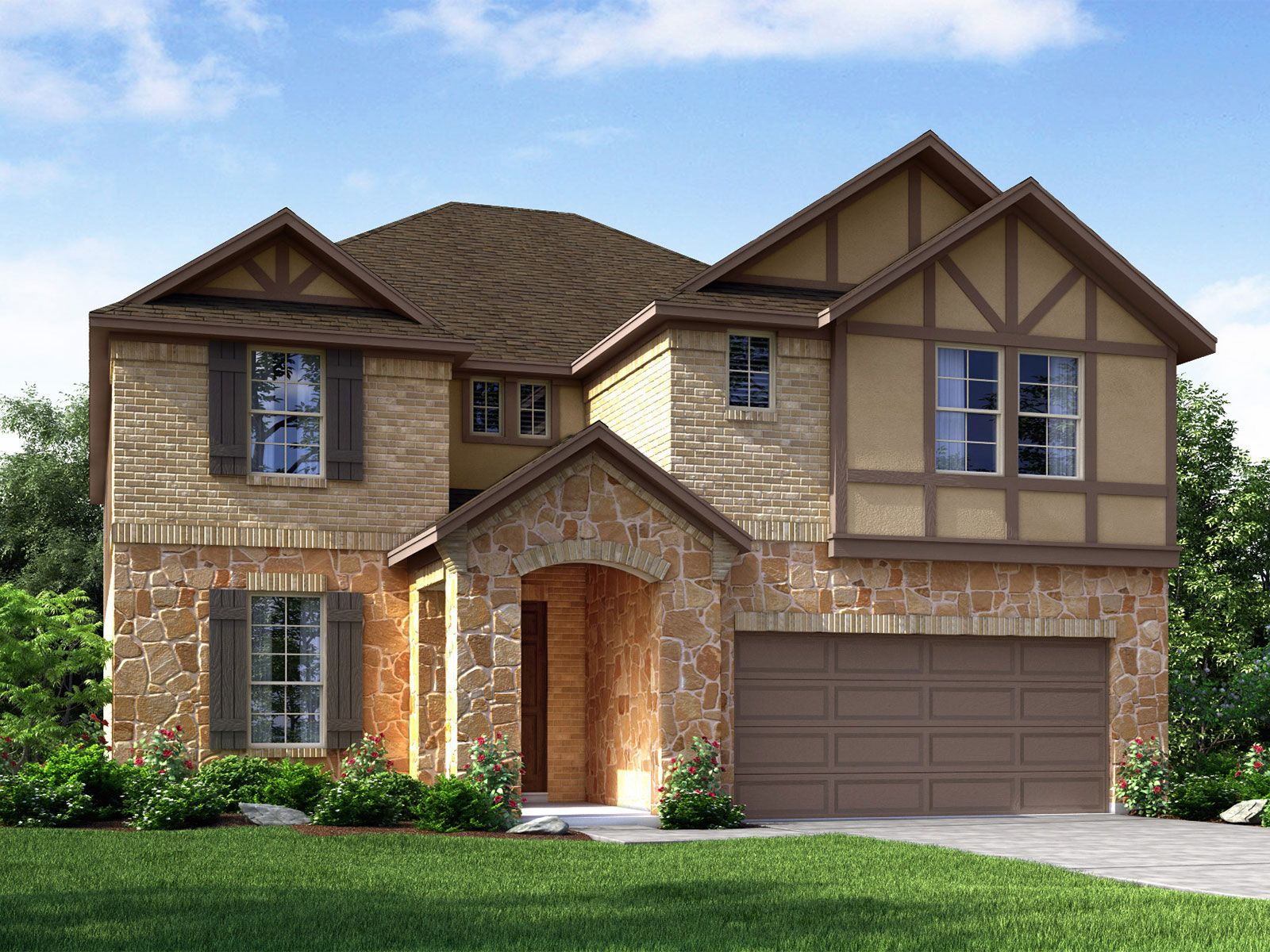 Exterior featured in The Cedar (4012) By Meritage Homes in Houston, TX