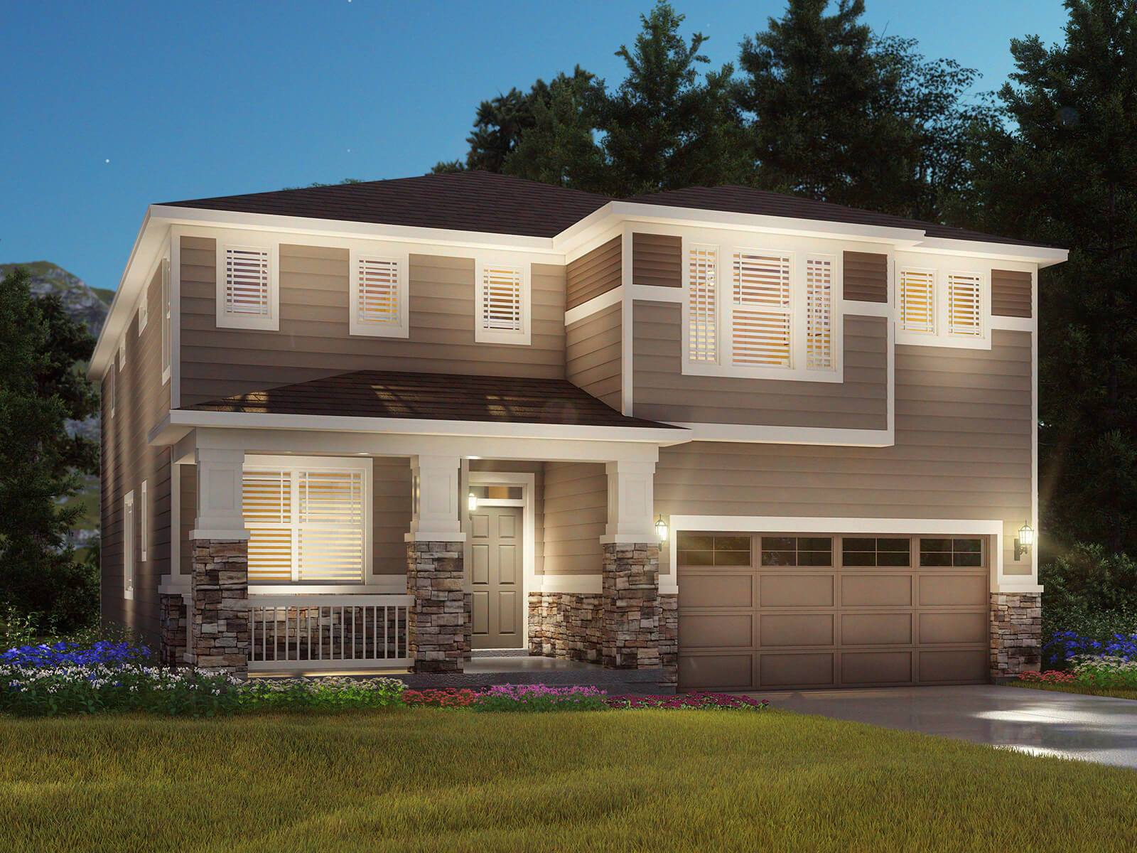 Colliers Hill: The Canyon Collection In Erie, CO, New