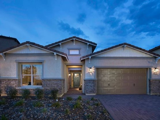 This single story Sierra Plus plan is perfect for entertaining.