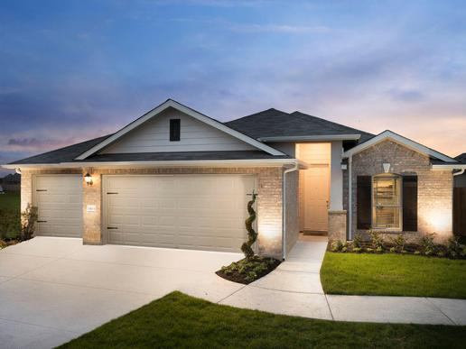 Choose your favorite from seven diverse home designs - like the Caprock.