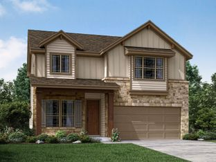 The Palermo - Asher Place: Saint Hedwig, Texas - Meritage Homes