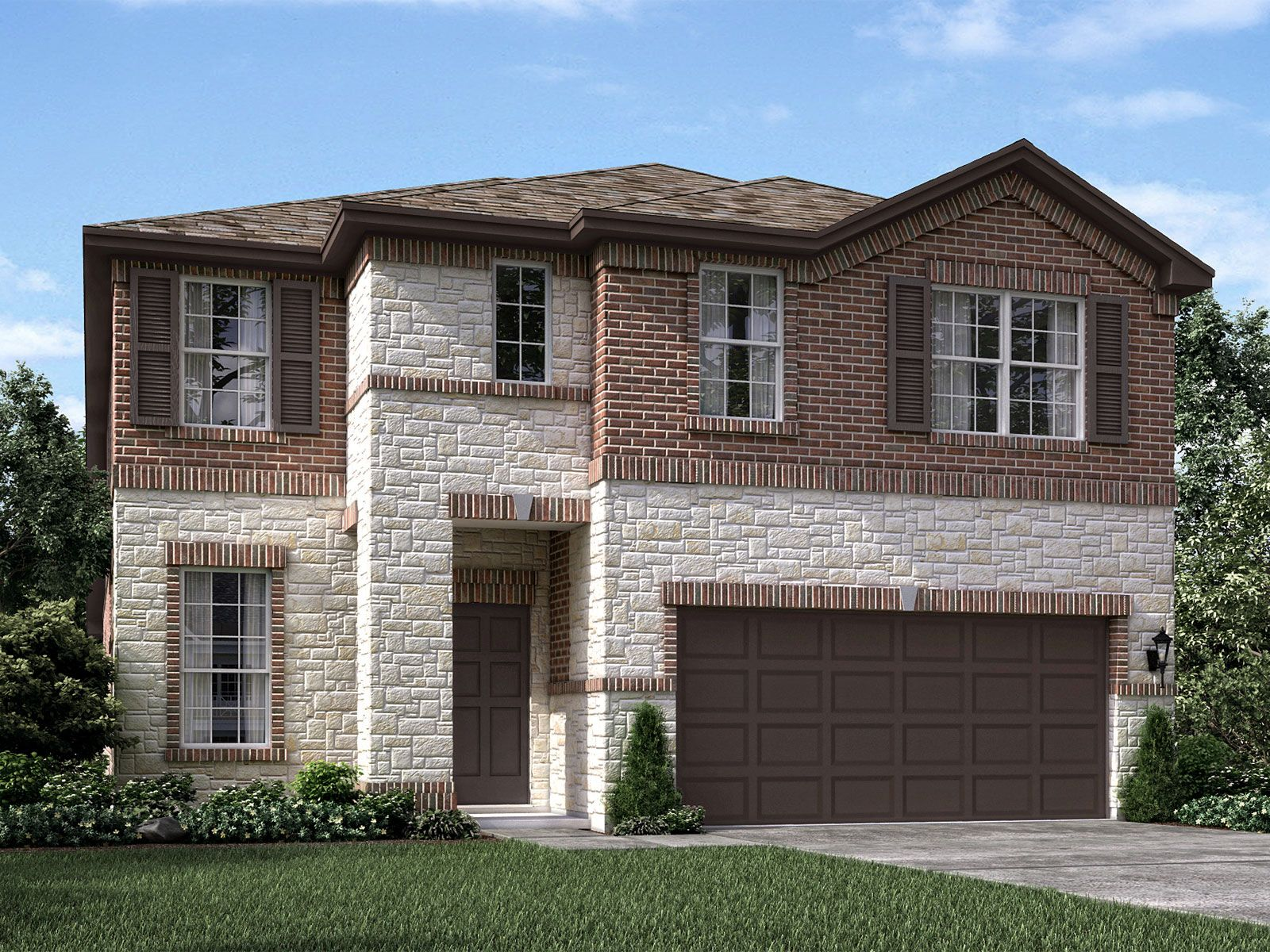 Exterior featured in The Texoma (3L08) By Meritage Homes in Houston, TX