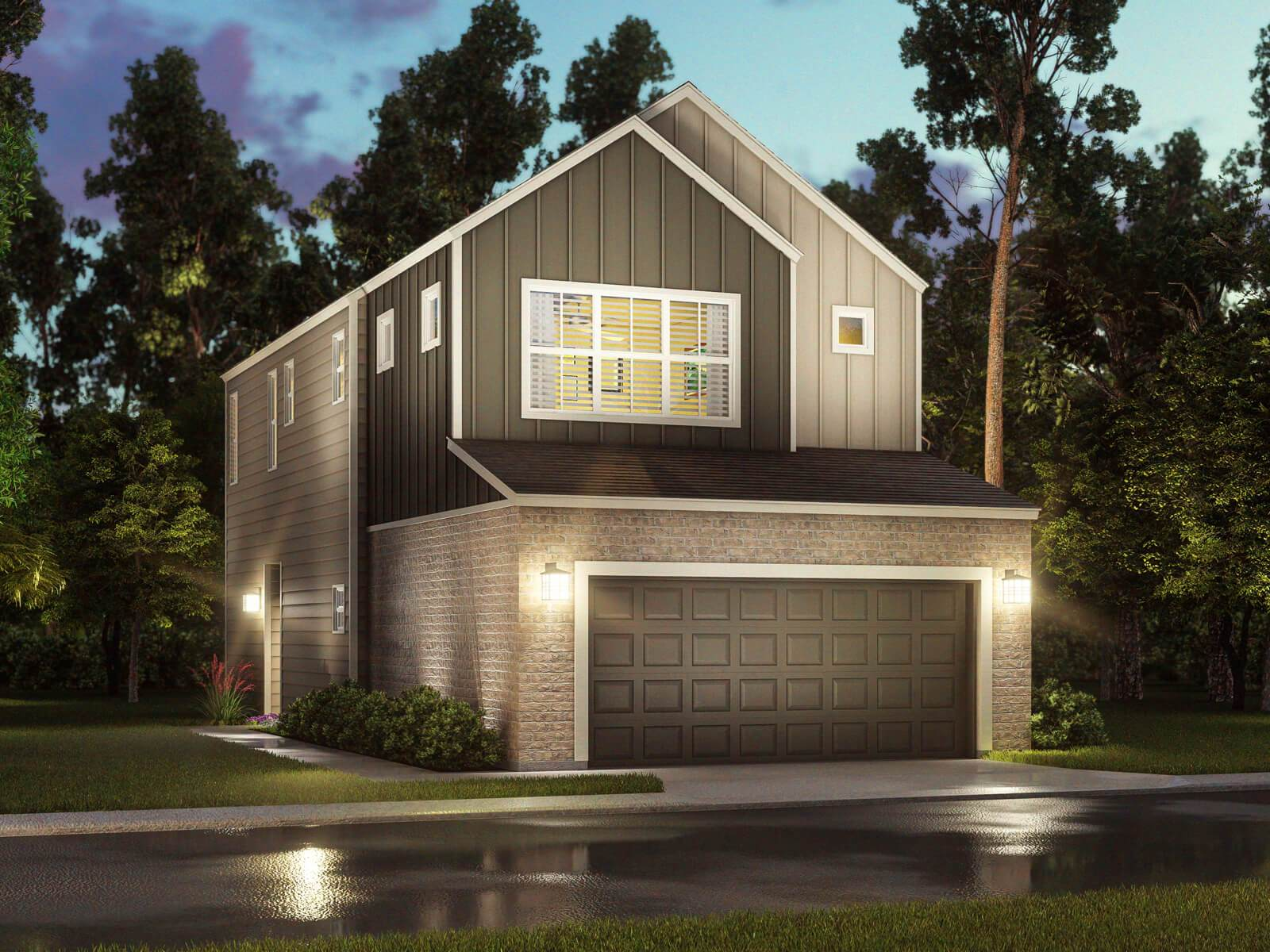 Exterior featured in The Harper (S101) By Meritage Homes in Houston, TX