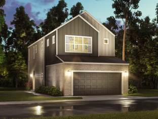 The Harper (S101) - Spring Brook Village - Townhome Collection: Houston, Texas - Meritage Homes
