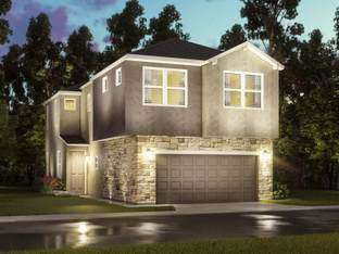 The Quinn (S104) - Spring Brook Village - Townhome Collection: Houston, Texas - Meritage Homes