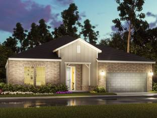 The Broadway (S303) - Spring Brook Village - Executive Home Collection: Houston, Texas - Meritage Homes